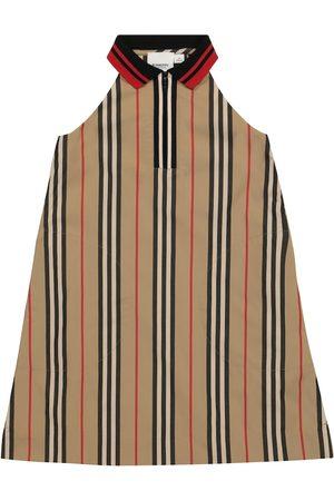 Burberry Kleid Icon Stripe aus Baumwolle