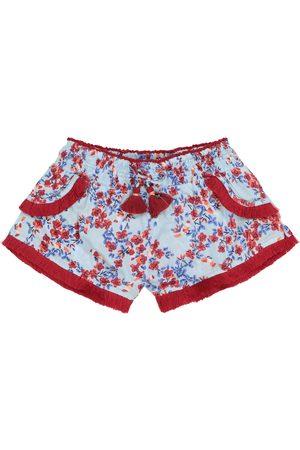 POUPETTE ST BARTH Shorts Lulu aus Georgette