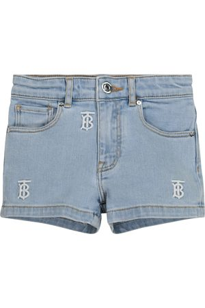 Burberry Bestickte Jeansshorts