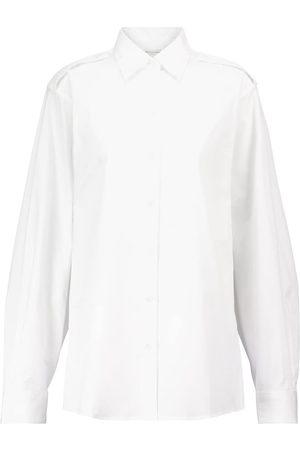 DRIES VAN NOTEN Hemd aus Baumwollpopeline