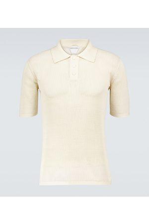 Bottega Veneta Poloshirt aus Mesh