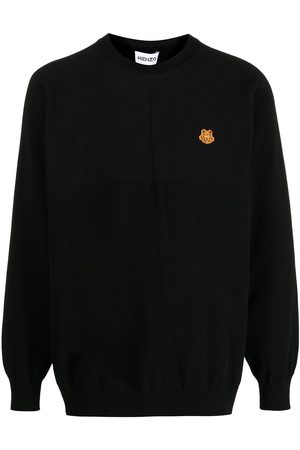 Kenzo Pullover mit Tiger-Patch