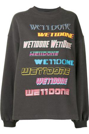 We11 Done Sweatshirt mit Logo
