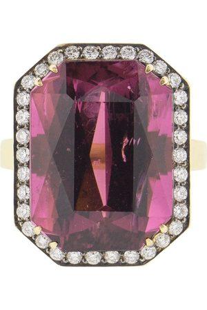 Sylva & Cie 18kt Gelbgoldring mit Diamanten