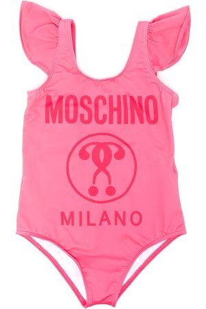 Moschino Kids Mädchen Badeanzüge - Gerüschter Badeanzug mit Logo