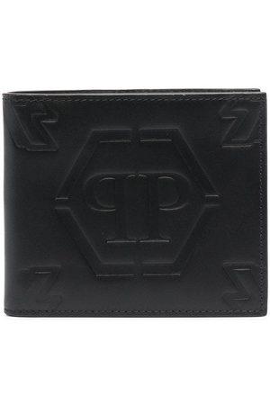Philipp Plein Portemonnaie mit Logo-Prägung