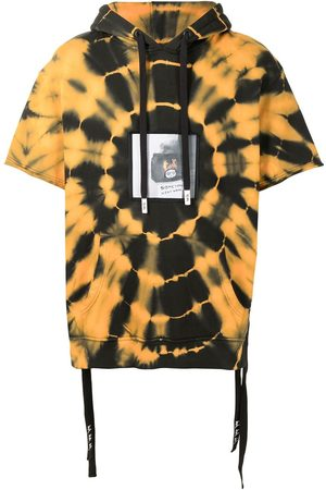 HACULLA Kurzärmeliger Hoodie im Batik-Look