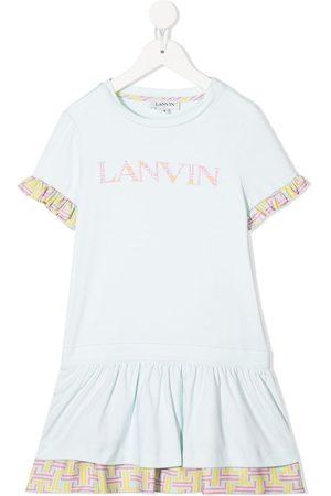 Lanvin T-Shirtkleid mit Logo-Print