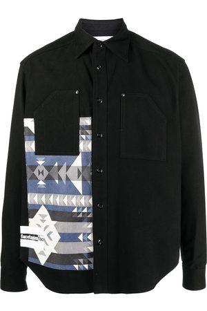 FACETASM Blusen - Hemd mit Print