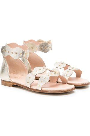 Chloé Mädchen Sandalen - Sandalen mit Klettverschluss