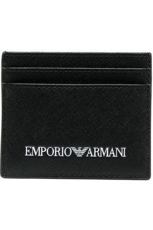 Emporio Armani Kartenetui mit Logo-Print