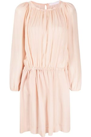 See by Chloé Damen Freizeitkleider - Gerafftes Kleid