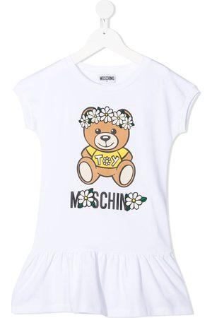 Moschino Kids T-Shirtkleid mit Teddy-Print