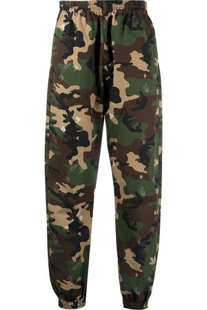 Off-White Tapered-Hose mit Print