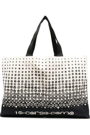 10 CORSO COMO Shopper mit Logo-Print