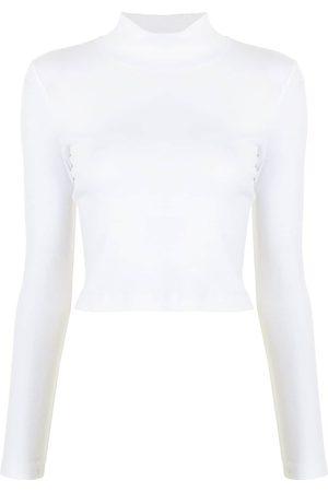 Rosetta Getty Damen T-Shirts, Polos & Longsleeves - T-Shirt mit Rollkragen