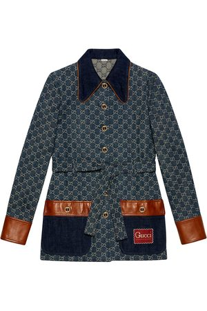 Gucci Jeansjacke mit GG