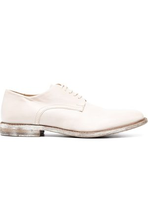 Moma Oxford-Schuhe im Distressed-Look