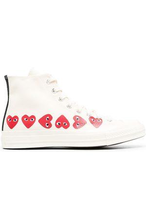 COMME DES GARÇONS PLAY X CONVERSE Multi Hearts Sneakers