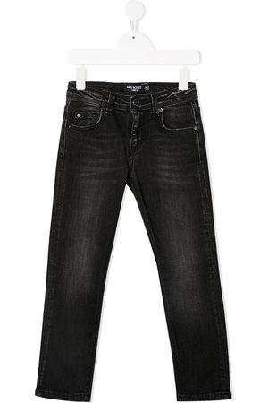 Neil Barrett Halbhohe Skinny-Jeans