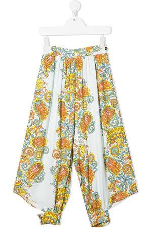 Lanvin Mädchen Weite Hosen - Culottes mit grafischem Print