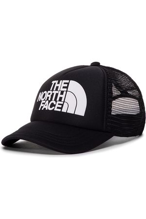 The North Face Caps - Youth Logo Trucker NF0A3SIIKY41 Tnfblack/Tnfwht