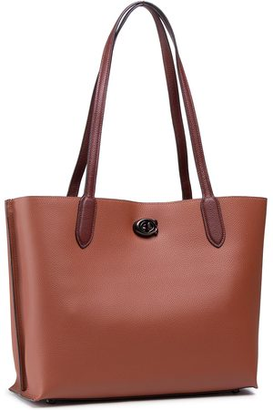 Coach Cc Sig Willow Tote C0692 V5MBV B4/1941 Saddle