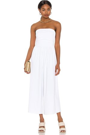 Susana Monaco Strapless Ruched Jumpsuit in . Size M, S, XS.