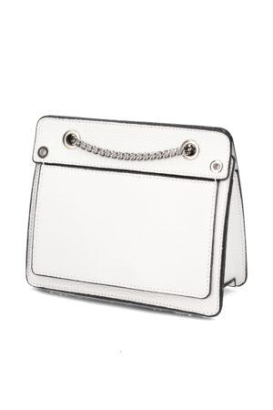 Lazzarini Damen Taschen - Glattleder Mini Bag weiss