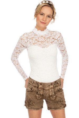 hangOwear Jeans Short OVIDA schlamm