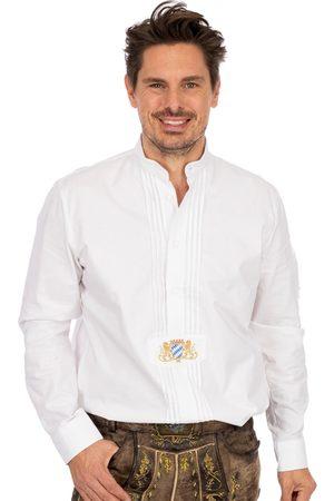 OS-TRACHTEN Herren Trachtenhemden - Stehkragenhemd CARSTEN