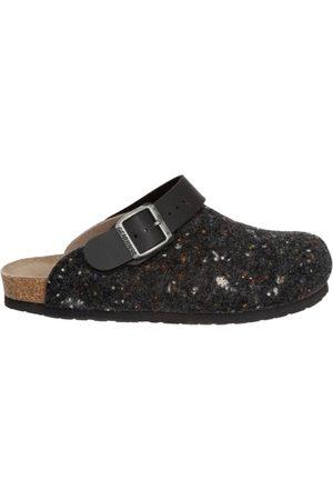 Genuins Herren Hausschuhe - Pantoffeln G101601 SHETLAND anthrazit
