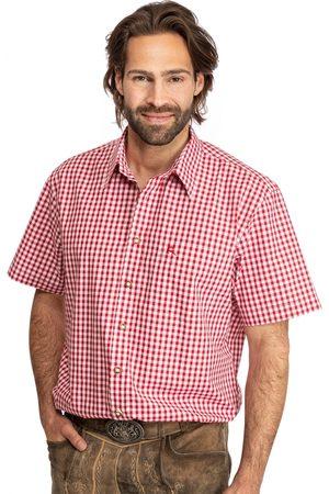 OS-TRACHTEN Herren Trachtenhemden - Karo Kurzarmhemd ALZACH