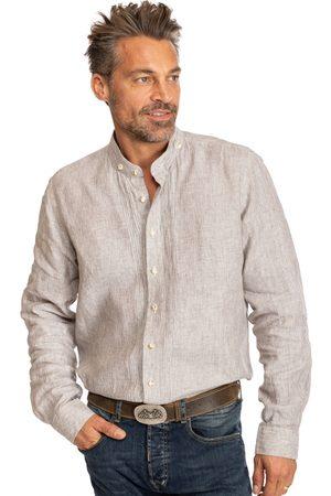 Almsach Herren Trachtenhemden - Hemd Stehkragen 175LI