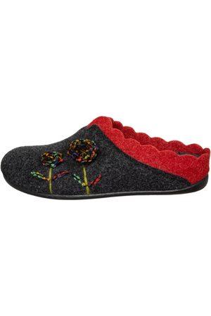 Florett Damen Hausschuhe - Pantoffel NELLY -rot