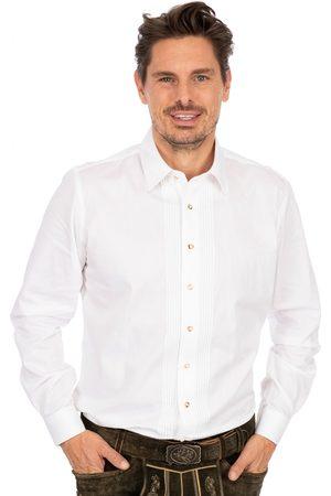 Almsach Herren Trachtenhemden - Hemd Liegenkragen LF182