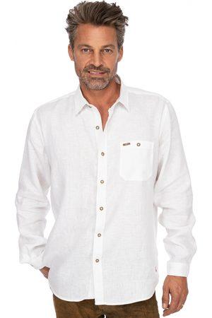 Stockerpoint Trachten Hemd Leinen Langarm VINCENT2