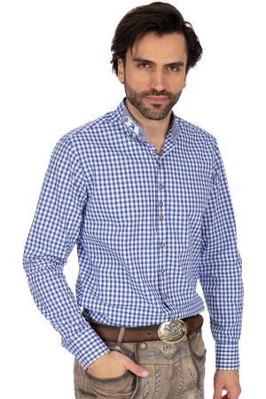 OS-TRACHTEN Herren Trachtenhemden - Stehkragenhemd DORIAN