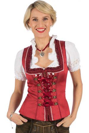 KRÜGER Damen Trachtenmieder - Trachtenmieder ROTER TRAUM