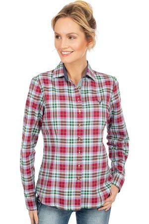 OS-TRACHTEN Damen Trachtenblusen - Bluse GISELLE rot