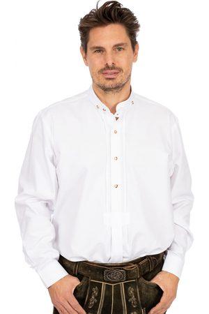 Almsach Herren Trachtenhemden - Hemd Stehkragen LF103