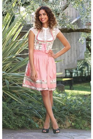 Stockerpoint Damen Dirndl - Mini Dirndl 2tlg. 55 cm ASTORIA rose