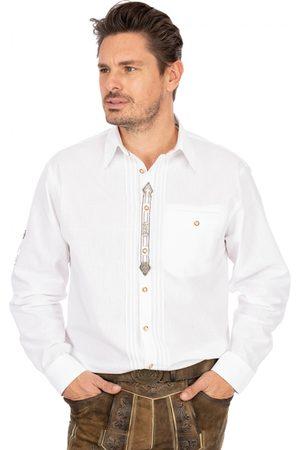 OS-TRACHTEN Herren Trachtenhemden - Trachtenhemd Thomas weiss