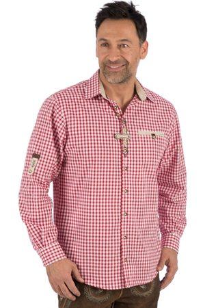 OS-TRACHTEN Herren Trachtenhemden - Trachtenhemd karo DACHSTEIN