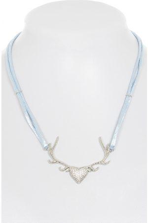 KRÜGER Damen Halsketten - Halskette 71604-81 hellblau