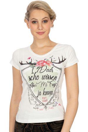 MARJO Damen T-Shirts, Polos & Longsleeves - T-Shirt D48 - MANU vintage