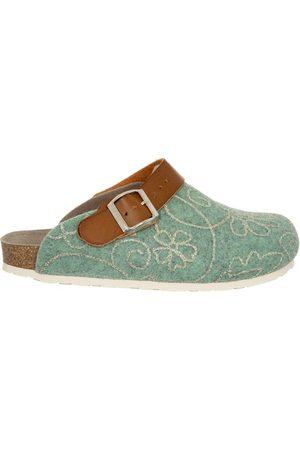 Genuins Damen Hausschuhe - Pantoffel G101622 GLOW