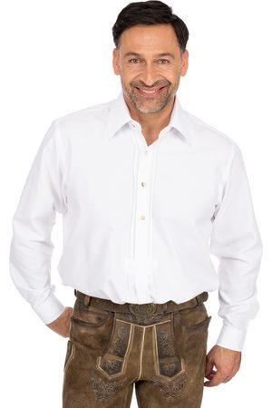 Almsach Herren Trachtenhemden - Hemd Liegenkragen LF102