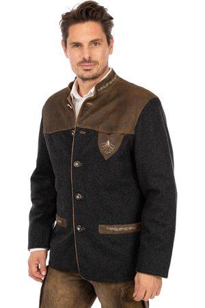 Mark Maddox Herren Trachtenjacken - Jacke JOSHUA wool moos