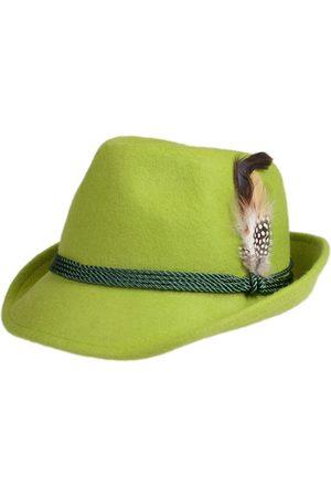 Schuhmacher Damen Hüte - Trachtenhut HT750 apfel mit Feder